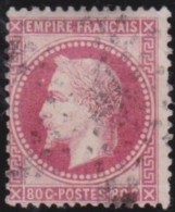 France   .  Yvert   .    32        .        O      .   Oblitéré  .   /   .   Cancelled - 1863-1870 Napoléon III Lauré