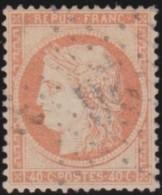 France   .  Yvert   .    38        .        O      .   Oblitéré  .   /   .   Cancelled - 1870 Siege Of Paris