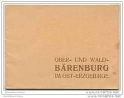 Ober- Und Wald- Bärenburg Im Ost-Erzgebirge 30er Jahre - 24 Seiten Mit 15 Abbildungen - Werbung - Saxe