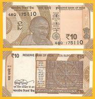 India 10 Rupees P-new 2018 Letter R  UNC - India