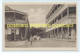 BEIRA - VALSASSINA STREET , MOZAMBIQUE. OLD POSTCARD C.1920 #765. - Mozambique