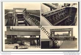 Magdeburg - Das Schiffshebewerk Rothensee - Foto-AK 30er Jahre - Magdeburg