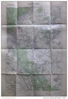 62 Deutsch Jahrndorf 1947 - Provisorische Ausgabe Der Österreichischen Karte 1:50.000 - Herausgegeben Vom Bundesamt Für - Mapamundis