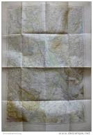 63 Salzburg 1938 - Österreichische Karte 1:50.000 - Herausgegeben Vom Kartographischen Früher Militärgeographischen Inst - Maps Of The World
