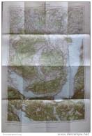 65 Attersee 1948 - Österreichische Karte 1:50.000 - Herausgegeben Vom Bundesamt Für Eich- U. Vermessungswesen (Landesauf - Landkarten
