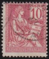 France   .  Yvert   .       116          .        O      .   Oblitéré  .   /   .   Cancelled - Oblitérés