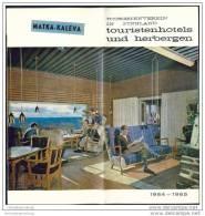 Finnland - Hotels Und Herbergen 1964 - 16 Seiten Mit 23 Abbildungen - Finnland