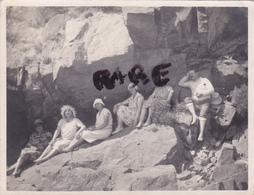 PHOTO ANCIENNE,1930,BRETAGNE,22,COTES D'ARMOR,PLAGE DES VALLEES,PRES D'ERQUY,GOUVRAY,BYRAND,CARRIERES,CAROUAL,RARE - Places