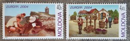 Moldavie - YT N°422, 423 - EUROPA / Les Vacances - 2004 - Neufs - Moldavie