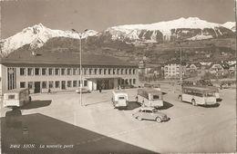 SION - NOUVELLE POST - FORMATO PICCOLO - VIAGGIATA 1963 - (rif. H24) - VS Valais