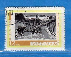 (1Us) VIETNAM Du NORD °-1968 -  . Yvert. 619.  Oblitéré.  Vedi Descrizione. - Vietnam