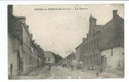 80/ SOMME... SAINS En AMIENOIS. La Mairie - Other Municipalities