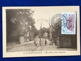 Luxembourg - Eich - Côte D'Eich Avec Brasserie (Dudelange 28.07.1982) - Postcards