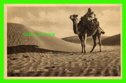 LIBYE - LIBIA, VIAGGIO NEL DESERTO - ANIMÉE -  ÉCRITE - ETAL - - Libye