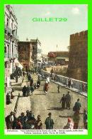JERUSALEM, ISRAEL - VUE INTÉRIEURE DE LA PORTE DE JAFFA - ANIMÉE - - Israel