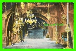 JERUSALEM, ISRAEL -  ÉGLISE DU TOMBEAU DE LA ST VIÈRGE -  LEHNERT & LANDROCK - ANIMATED - - Israel
