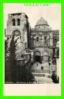 JERUSALEM, ISRAEL - THE CHURCH OF THE HOLY SEPULCHRE -  ANIMATED -  SIONS-VERLAG - - Israel