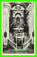 MOUNT CARMEL, ISRAEL - CHURCH OF THE MONASTERY, INTERIOR - SIONS-VERLAG - - Israel