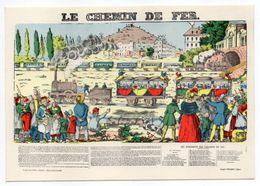 Histoire -- D'après Imagerie PELLERIN - Epinal --88 --Le Chemin De Fer - Histoire