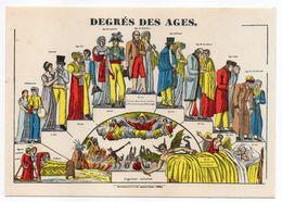 Histoire -- D'après Imagerie PELLERIN - Epinal --88 -- Degrés Des âges -- - Histoire