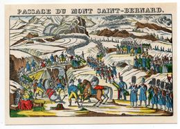 Histoire -- D'après Imagerie PELLERIN - Epinal --88 -- Passage Du Mont Saint Bernard (Napoléon) - Histoire