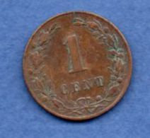 Pays Bas  -  1 Cent 1882 --  Km # 107  - état  TTB - [ 3] 1815-… : Royaume Des Pays-Bas
