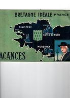 LIVRE   BRETAGNE   IDEALE - Dépliants Turistici