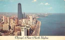 "0006 ""CHICAGO NEAR NORTH SKYLINE"" CART. ORIG. SPEDITA '60 - Chicago"