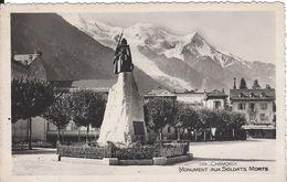 74 CHAMONIX MONT BLANC MONUMENT AUX MORTS DUPUPET ARCHITECTE  PLACE DU POILU Editeur SOCIETE GRAPHIQUE 144 - Chamonix-Mont-Blanc