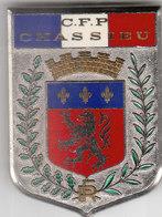 INSIGNE - CENTRE DE FORMATION DE LA POLICE DE CHASSIEU - RARE - Police