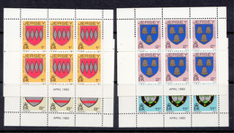 Jersey Booklet Panes 1p 2p 8p & 11p - Dated April 1983 - Unmounted Mint NHM - Jersey