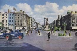 O'Connell Street, Dublin City, Ireland, Parnell Monument, Nelson Pillar, C1956 Postcard Z1 - Dublin