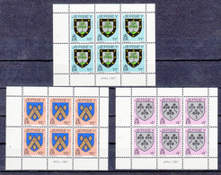 Jersey Booklet Panes 4p 11p & 15p - Dated April 1987 - Unmounted Mint NHM - Jersey