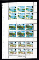 Jersey Booklet Panes 5p 15p & 20p - Dated February 1991 - Unmounted Mint NHM - Jersey