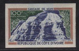 Cote D Ivoire - PA N°45 Non Dentele ** - Cascade De Man - Côte D'Ivoire (1960-...)
