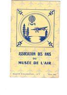 ASSOCIATION  DES  AMIS  DU MUSEE  DE L AIR - Manuels