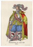 Histoire-d'après Imagerie PELLERIN-Epinal --Série Collection D'uniformes-Mousquetaire De Louis XIII - Officier - Histoire
