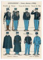 Histoire-d'après Imagerie PELLERIN-Epinal --Historique De La Gendarmerie-Musique De La Garde Républicaine - Histoire