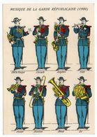 Histoire-d'après Imagerie PELLERIN-Epinal --Historique De La Gendarmerie--Tenues Diverses (1900) - Histoire