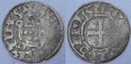 Centre Val De Loire Indre Et Loire Tours 1180-1223 Denier Tournois Au Nom De Saint Martin Sous Philippe II Auguste - 1180-1223 Philippe II Auguste