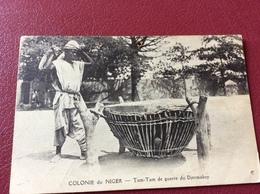 CPA Colonie Du Niger - Tam-Tam De Guerre Du Djetmakoy - Niger