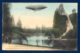 Le Dirigeable République Au Dessus Du Lac Des Buttes Chaumont( Lebaudy- Moisson 07.1908-Trévol 09.1909). 1909 - Dirigeables