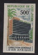 Cote D Ivoire - PA N°37 Non Dentele ** - Direction Air Afrique - Côte D'Ivoire (1960-...)