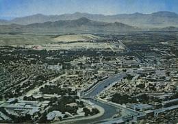 City Of Kabul, Afghanistan, Aerial View C1972 Postcard Z1 - Afghanistan