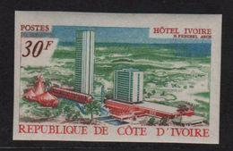 Cote D Ivoire - N°285 Non Dentele ** - Hotel Ivoire - Côte D'Ivoire (1960-...)