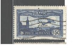 "FRANCE  PERFIN.""j.J.C."" 1930 - 1931 #C6a USED  $21.00 - France"