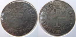 Belgique Wallonie (Bourgogne Médiévale) Tournai 1389 Blanc à L'écu Dit Guénar 2è émission Charles VI - 1380-1422 Charles VI Le Fol