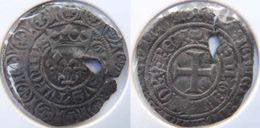 Belgique Wallonie (Bourgogne Médiévale) Tournai 1413 Gros Aux Trois Lis Sous Une Couronne Dit Grosus Charles VI - 1380-1422 Charles VI Le Fol