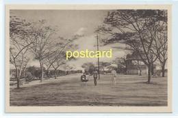 BEIRA - HENRIQUES NOGUEIRA PARK , MOZAMBIQUE. OLD POSTCARD C.1920 #805. - Mozambique