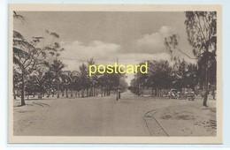 BEIRA - PONTA GEA AVENUE , MOZAMBIQUE. OLD POSTCARD C.1920 #806. - Mozambique
